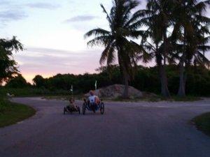 Riding at Long Key
