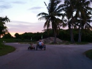 Riding at Long Key