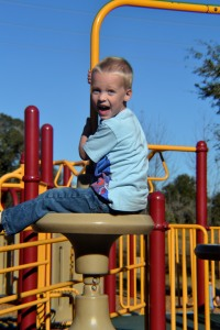 Of course the playground is what it's all about!