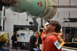 Jim was explaining about the Sputnik satellite.