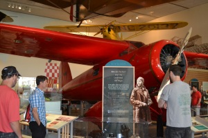One of the planes Amelia Earhart flew.  Very beautiful.